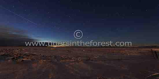 The Icelandic night sky.